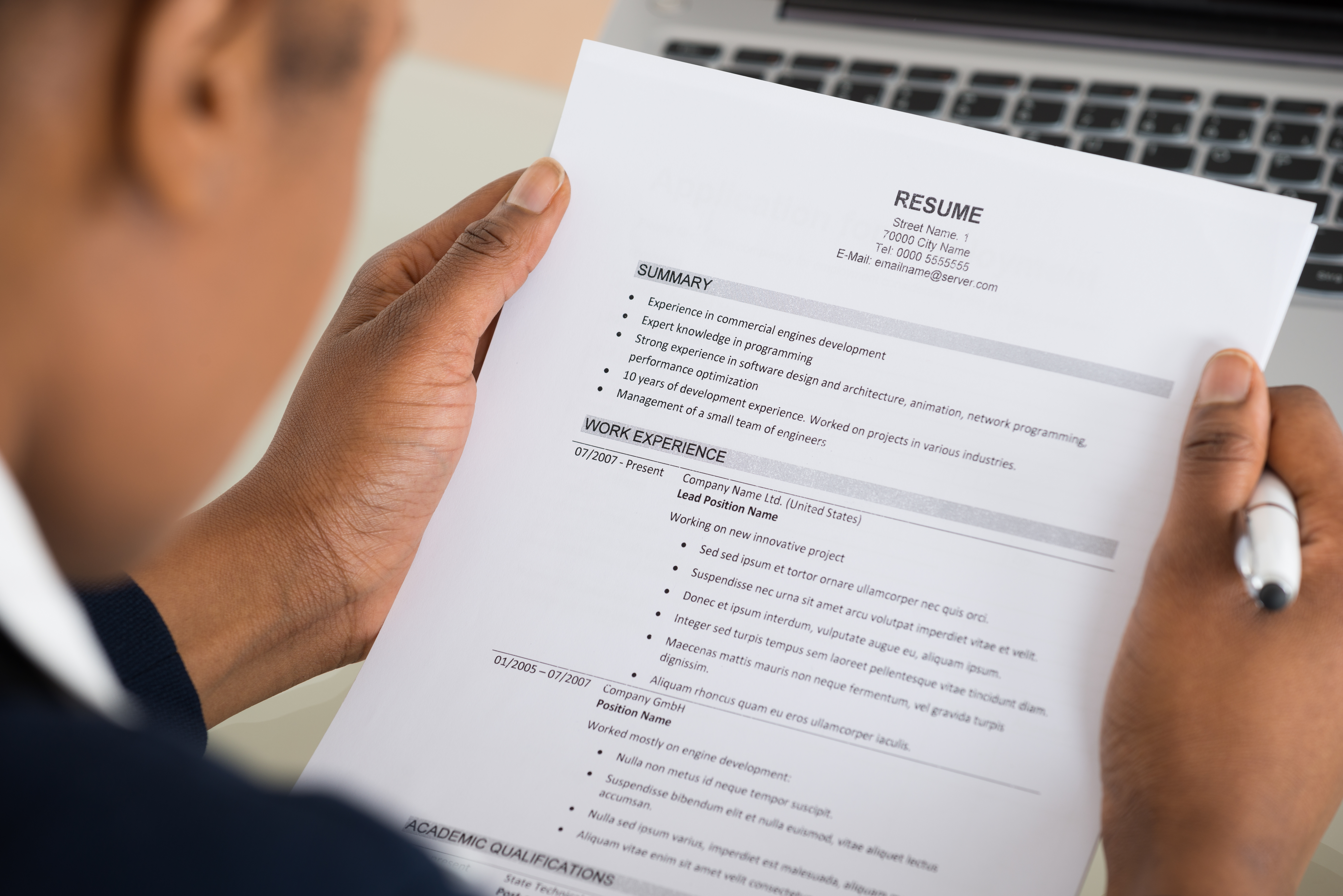 Creating a Powerful Resume